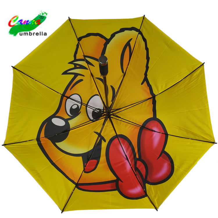 auto open double layer canopy golf umbrella