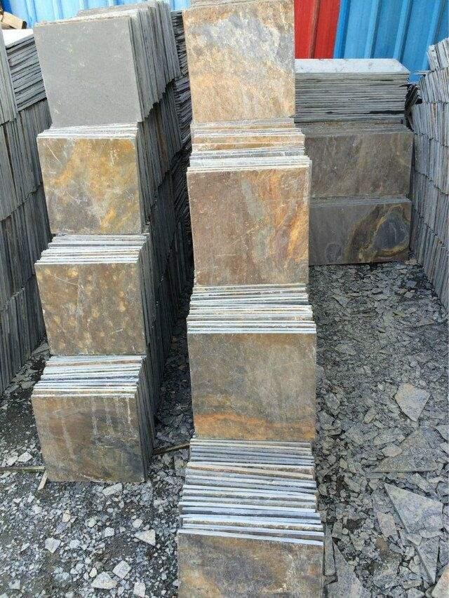 Slate Stone Cheap Outdoor Rusty Slate Tile Steeping Stone