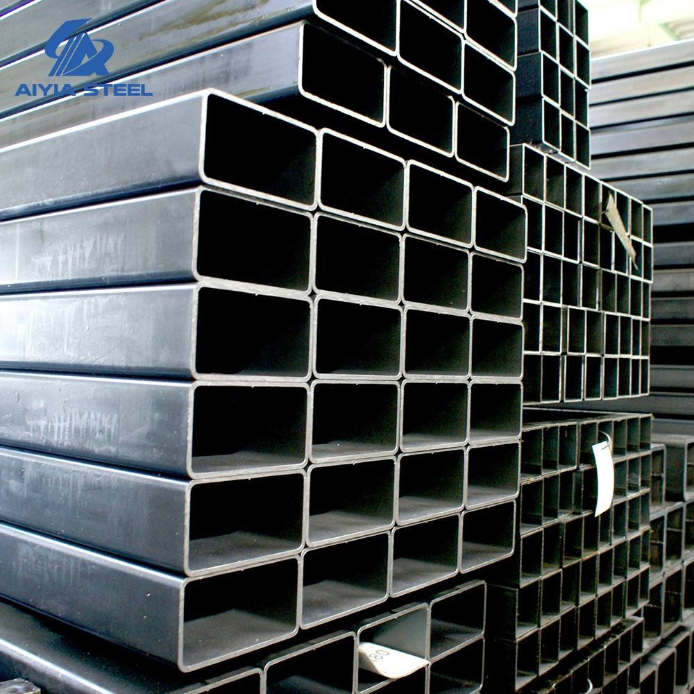 AIYIA Q195/Q235 Galvanized Rectangular steel tube for building material and greenhouse