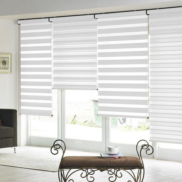 Window ready made curtain day and night blinds for large manufacturers cheap 2019 high-quality 25mm roller blind component