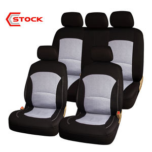 Comfortable Black And White Wholesale Car Seat Cover