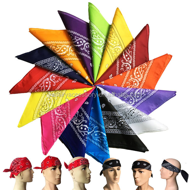 In Stock Sports Head Scarf Fashion Multifunctional Cotton Motorcycle Bandana