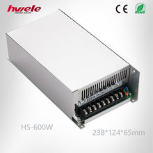 HS-600W switching power supply 220v 12v 50a with CE ROHS CCC KC TUV certification
