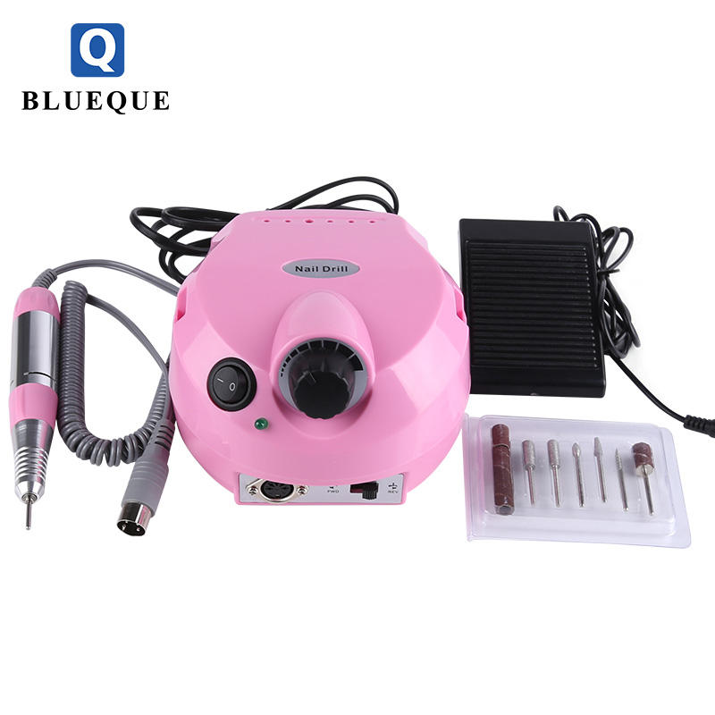 BLUEQUE beauty products for women electric nail drill manicure e file nail drill