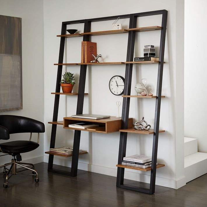 New Design OEM High Quality Wood Book Shelves for home or office