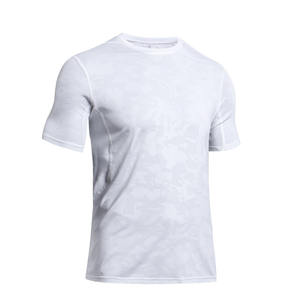 Men Training Outdoor Sports Mesh Fast Dry Fitness Marathon Running Short Sleeve T shirt