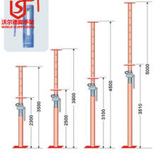 long life span steel prop as building construction tools and equipment Scafolding