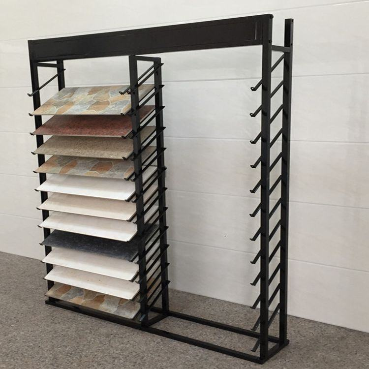 Goed product Keramische tegel display stand voor showroom monsters winkel retail tegel steen display rack quartz steen display rack