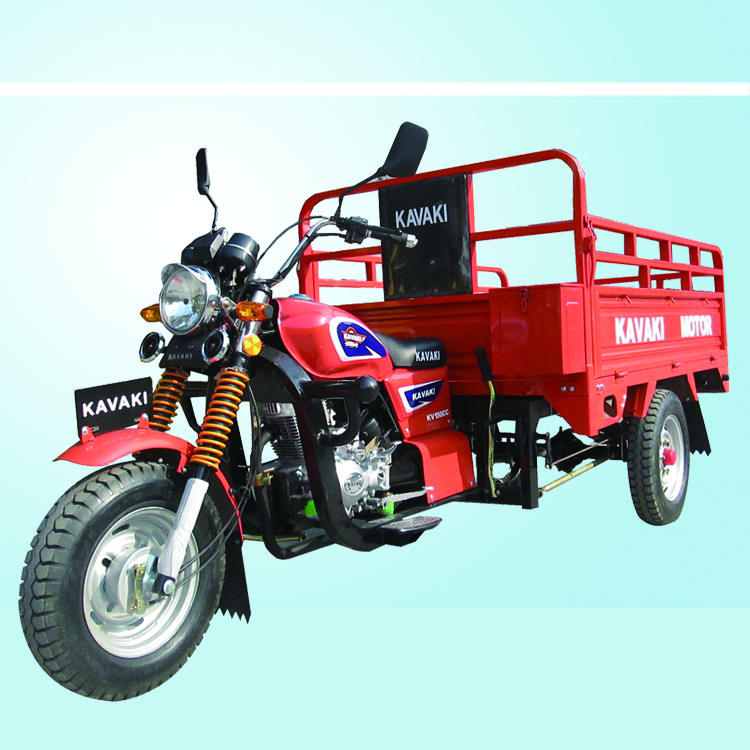 kavaki brand tricycle motor brand three tire car rear axle 150cc orange auto ect customized cng rickshaw for sale