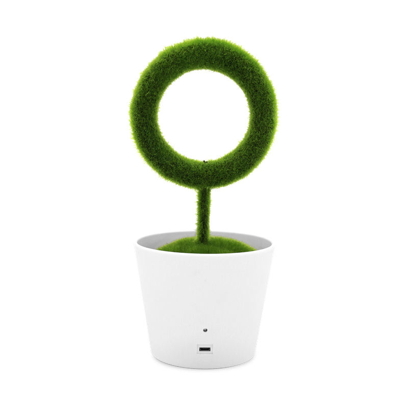 OEM Original Manufacturer Factory Wholesale Ionkini JO-732 Ionic Desktop Green Plant Air Purifier