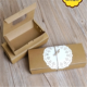 China Suppliers Cheap Kraft Paper Food Take Away Box For Sushi