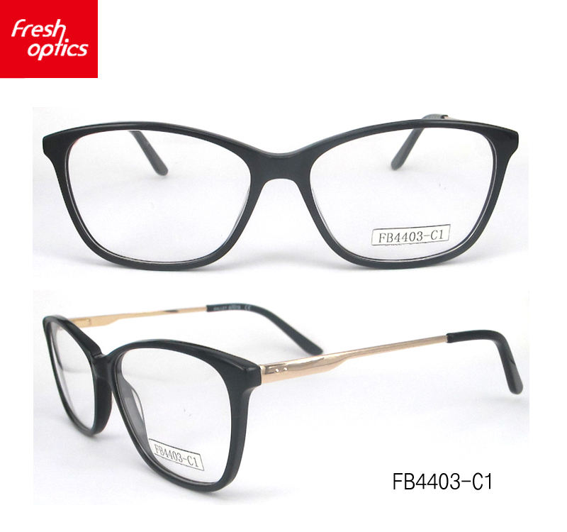 FB4403 High-grade colourful glasses acetate optical frames eyewear in wenzhou
