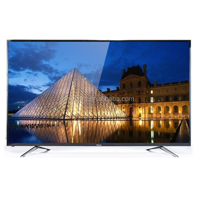 "¡2018 nuevo diseño! ¡Ultra Slim! <span class=keywords><strong>LED</strong></span> 4K UHD TV <span class=keywords><strong>de</strong></span> 32 ""42"" 50 ""55"" 65 pulgadas TFT <span class=keywords><strong>LED</strong></span> VGA DVB-T Monitor smart TV"