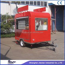 JX-FS220R Environmental hot dog trailer cart used concession food trailers small mobile food cart