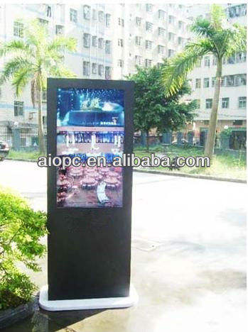55 Inch Outdoor/Indoor Android remote control kiosk multimedia touchscreen kiosk