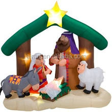 christmas decoration inflatable The Nativity Story