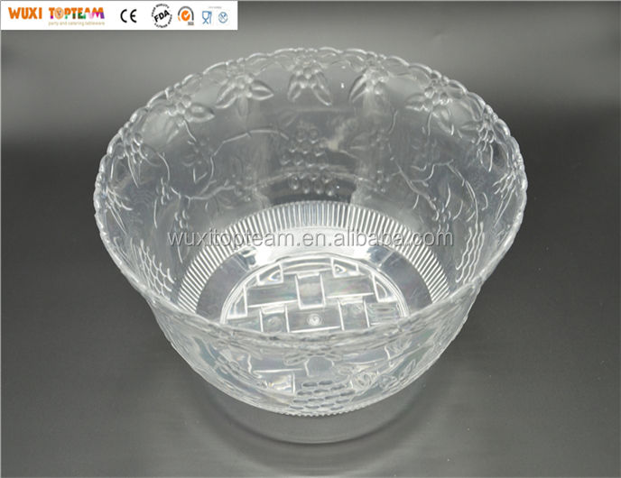 Plastic Punch Bowl
