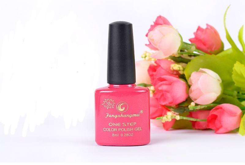 hecho en china de uñas de gel polaco paso 1 120 con colores <span class=keywords><strong>diseño</strong></span> personalizado puede disponible