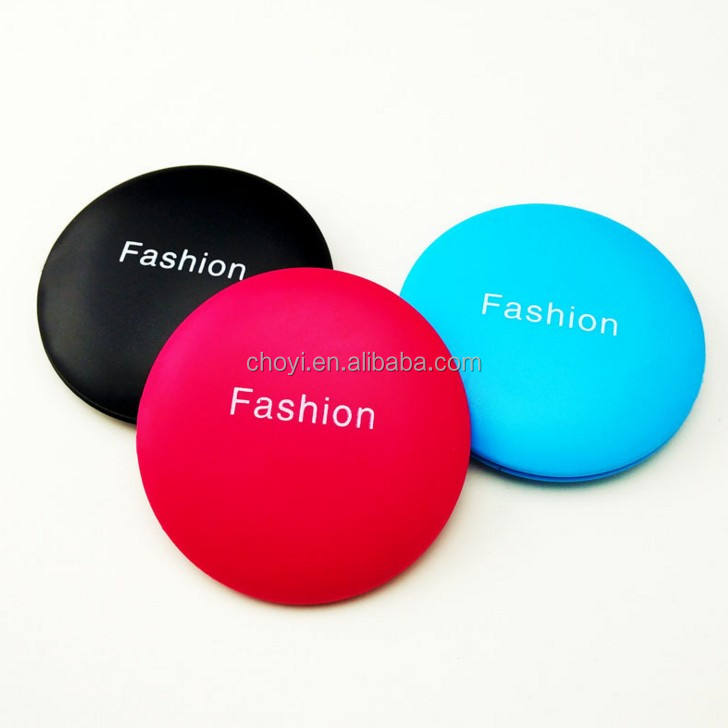 Small Plastic Pocket Mirror Personalized Folding Custom Compact Makeup Mirror