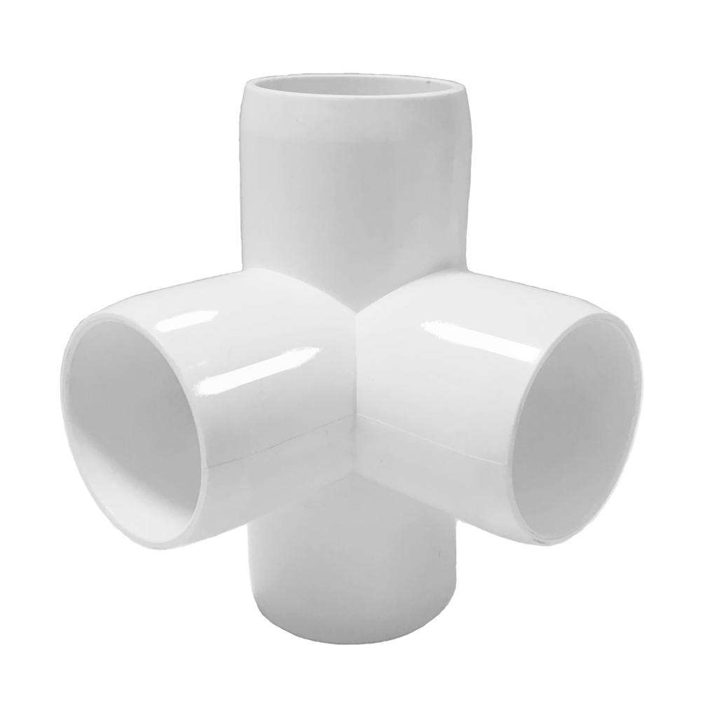 Sch. 40 Pack of 20 1-1//4 PVC 22.5 Elbow