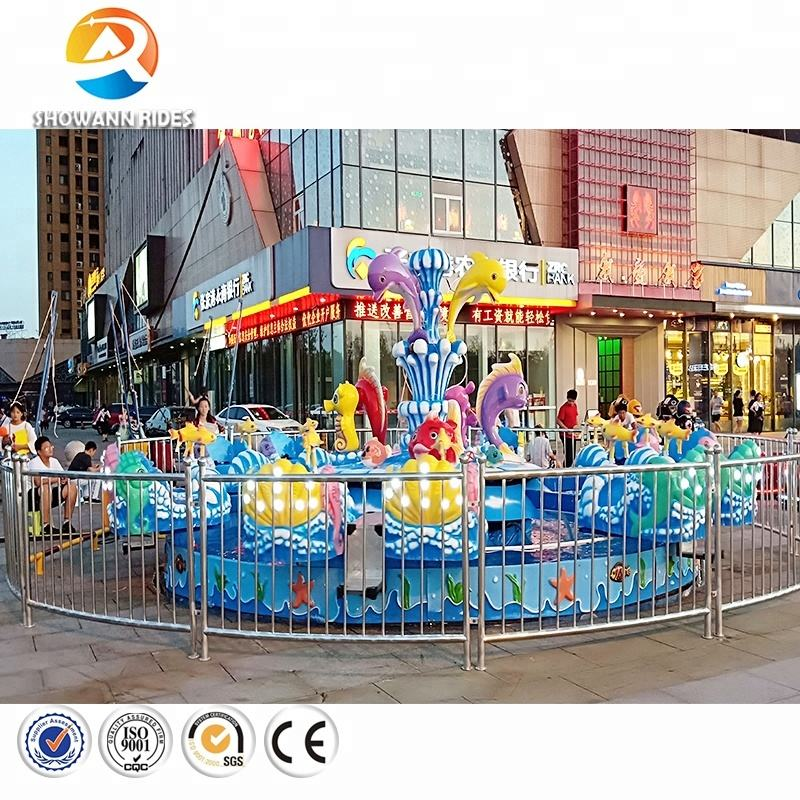 Hot sale kids and adults amusement park rides rotating ocean world, rotating water park rides for kids and adults