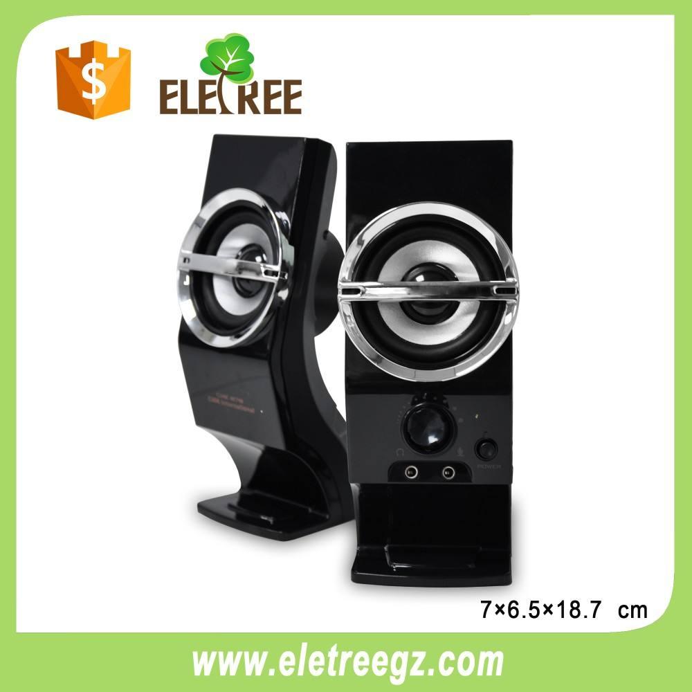 Hottest Top Qualité portable sans fil ordinateur haut-parleur avec FM radio, LED Lumière, support de la Carte TF