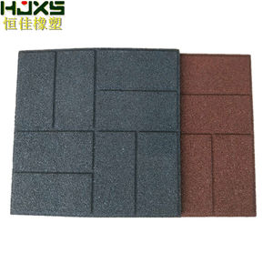 Hengjia floor roof deck rubber tiles