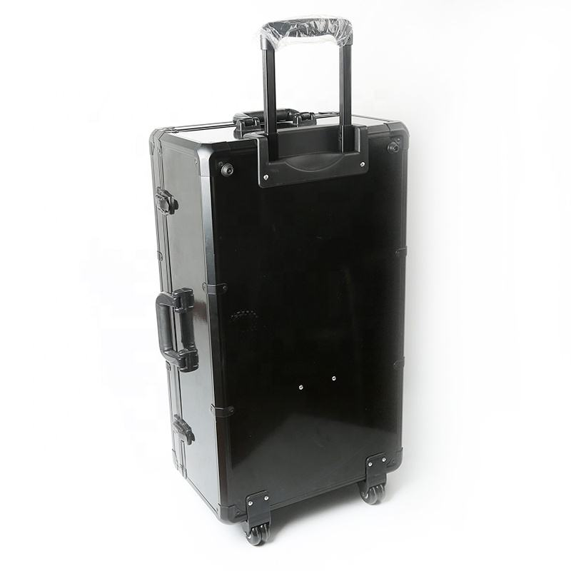 Wholesale Aluminum Carry Tool Case Trolley Box Case with Wheels