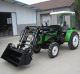 Good service after sales mini tractors with front end loader and backhoe