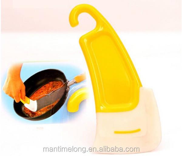 Pot Scraper Butter Spreader 1 Pcs Silicone Non-Stick Oil Kitchen Cooking Tool