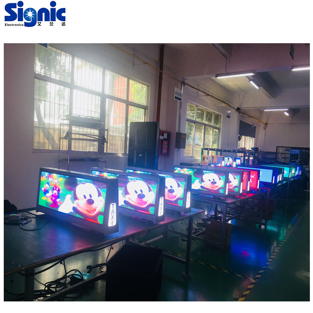 Outdoor Doppel Seite P2.5 P3.33 P5 Taxi Top LED Display 3G WIFI Taxi Werbung LED Video Display Zeichen