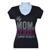 My Mom is My Hero together we will win Breast Cancer Rhinestone T shirt designs transfer