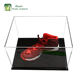 new design high transparent hot sale customized acrylic display box shoe display box clear display showcase