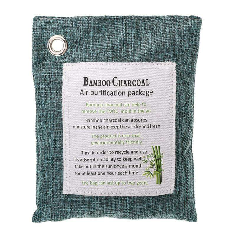 New Bamboo Charcoal Bag For Room Luggage Closet Car Bamboo Charcoal Activated Carbon Bags Air Freshener Odor Deodorant