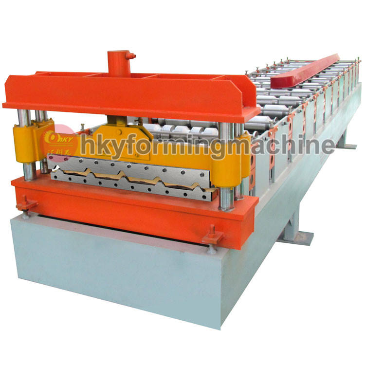 Colored Steel Tile Type Forming Machinery used metal roof panel roll forming machine