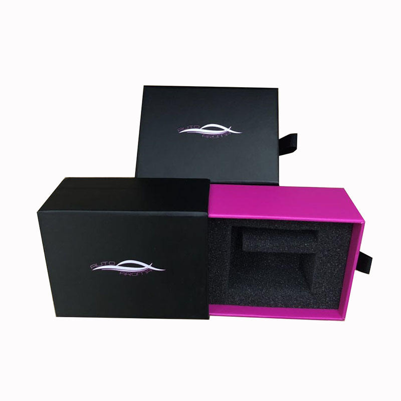 Hot sale custom matte laminated perfume bottle gift box package factory