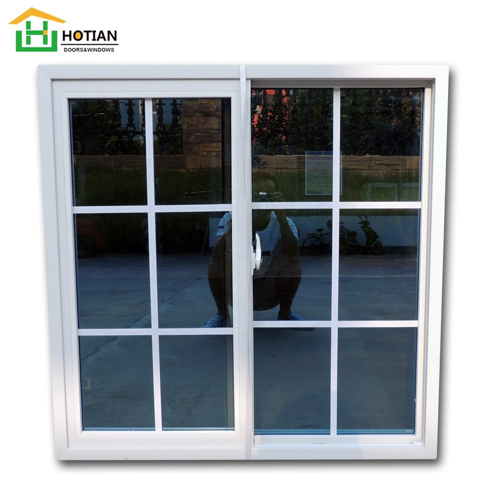 2019 model design PVC sliding window hot selling sliding upvc window design for home from china factory