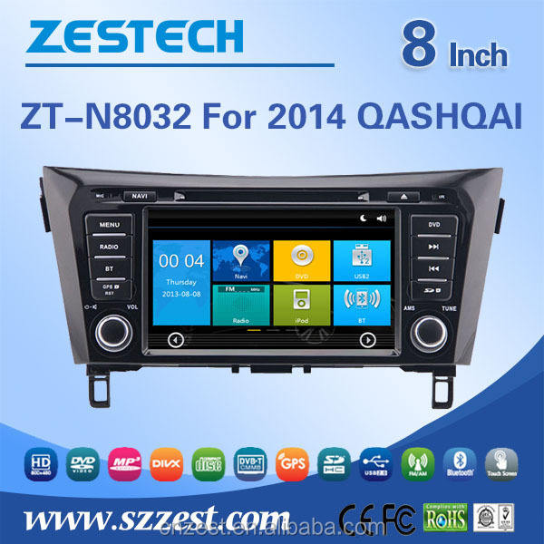touch screen car audio system for nissan qashqai radio dvd with dvd gps radio stereo multimedia