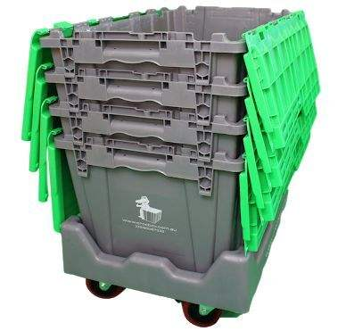 Popular Moving Company Use Plastic Reusable Stackable Moving Box