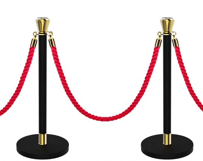 Hot sale cheap crowd control retractable belt rope stanchion