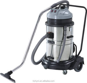 70L 2000W stainless steel tank industrial wet and dry vaccum cleaner