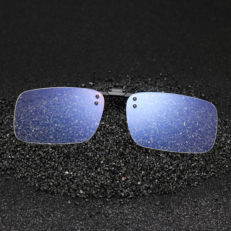 Clip On Blue 빛 블로킹 Glasses