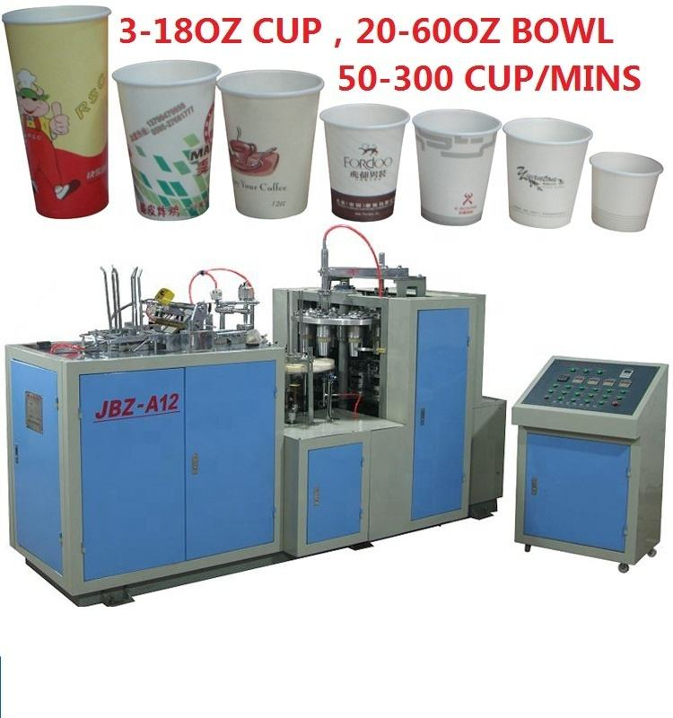 HERO BRAND Making Speed Automatic Machinery Part Medium Cold Hot Single Pe Cake Paper Cup Machine In Turkey