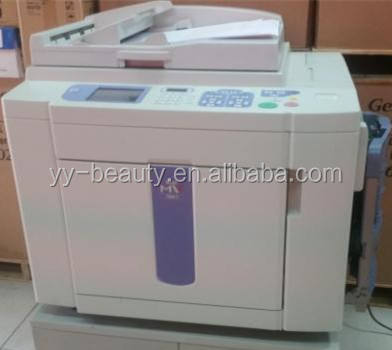 Risos MV7690C MD6650 MD5450 MX770 2 colors digital duplicator machine,RISOGRAPHs copyprinter duplicator machine