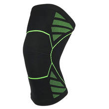 HYL-2381 new style knitted athletics knee sleeve supporter for sports