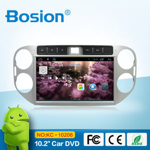 android car navigation stereo media for vw tiguan/wifi gps bt swc aux in phone connect