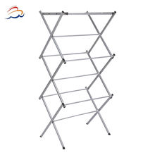detachable telescopic clothes rack shelf / cloth hanger drying rack for clothes