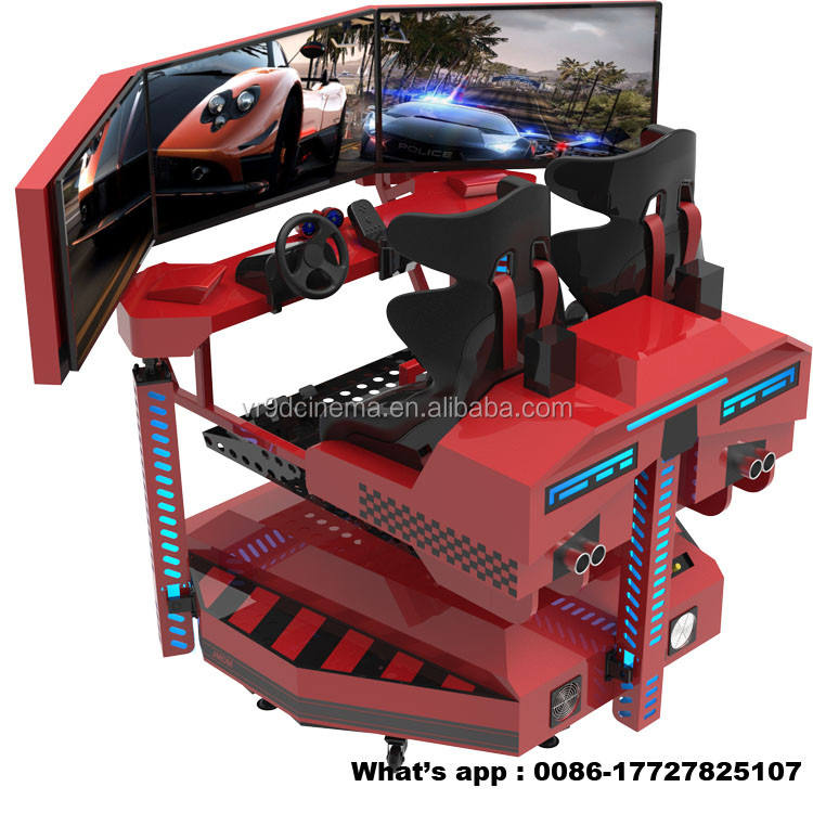 Video Kamer Machine PC Rijden Simulator Racing Simulator Games met Logitech wiel