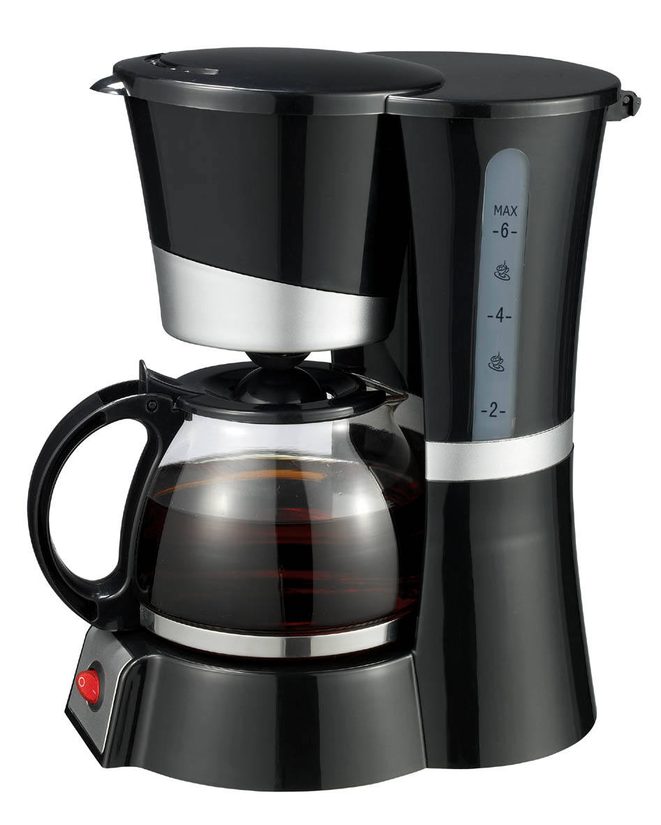 Good quality popular new electric drip coffee maker with 4-6 cup glass jar