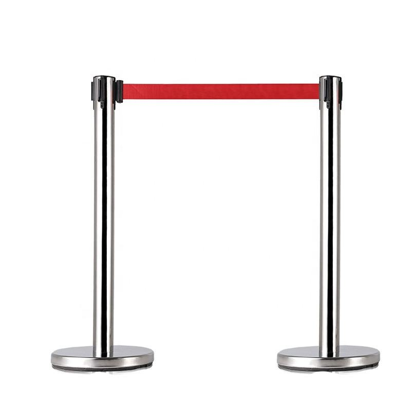 Wholesale Retractable Belt Stanchion Post bank queue line control barrier